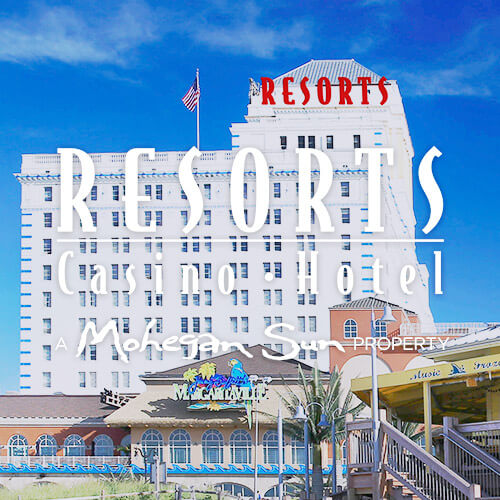 Resorts Casino Hotel on Hover
