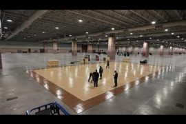 Time Lapse: Sport Court Installation