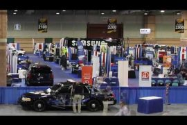 Time Lapse: Police Security Expo