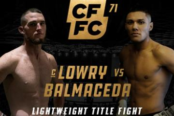 Cage Fury Fighting Championships : CFFC 71