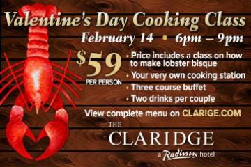 Valentine's Day Cooking Class