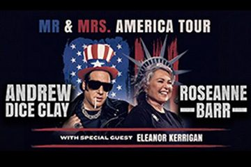 Rosanne Barr & Andrew Dice Clay